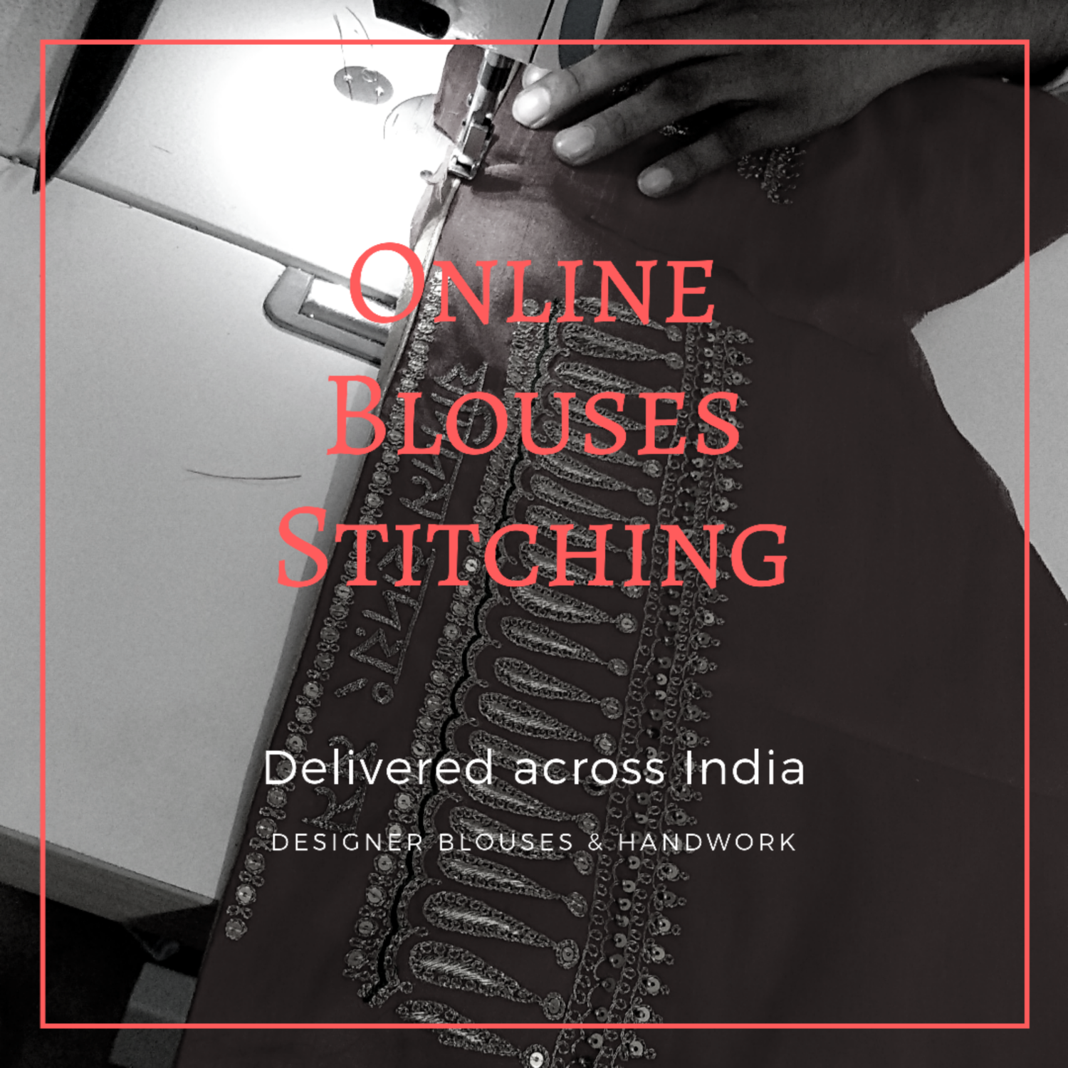 Online Blouse Stitching - free delivery