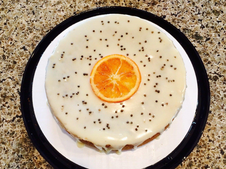 "Whole Orange Perilla 7"" Cake"