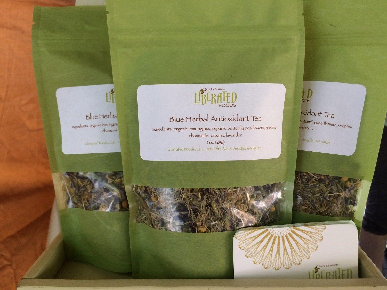 1 oz Blue Serenity Herbal Tea