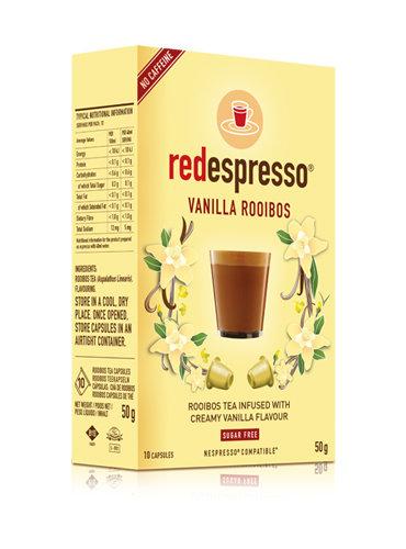 Red Espresso Vanilla Capsules - 10s