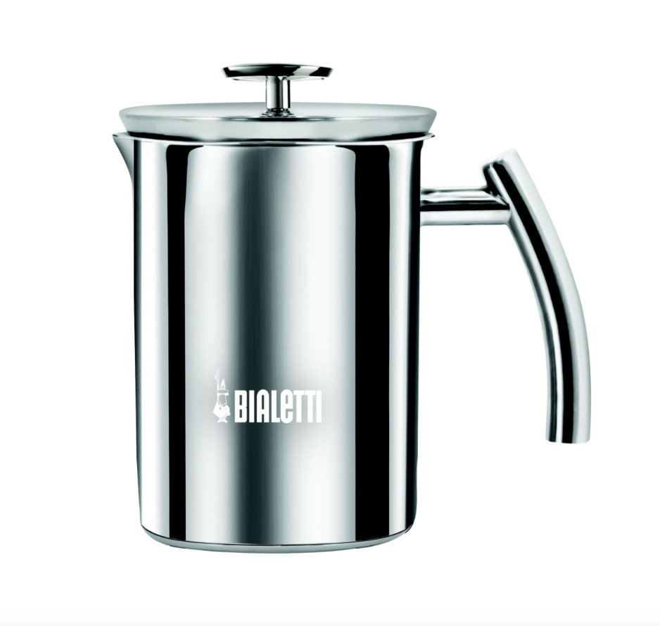 Bialetti Stainless Steel Milk Frother - 1 ltr