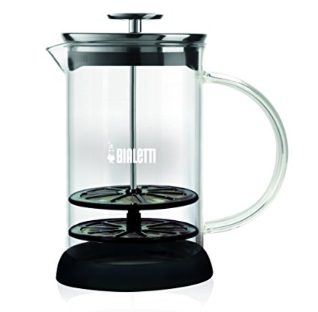 Bialetti Glass Milk Frother - 1 ltr