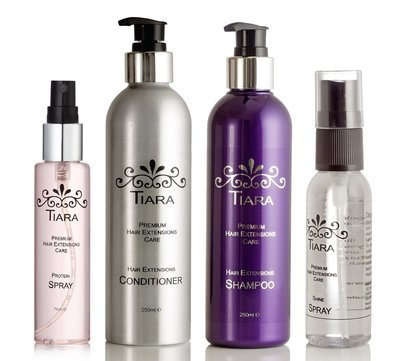 Tiara Extension Care Combo-III (Shampoo + Conditioner + Protein Spray+Shine Spray)