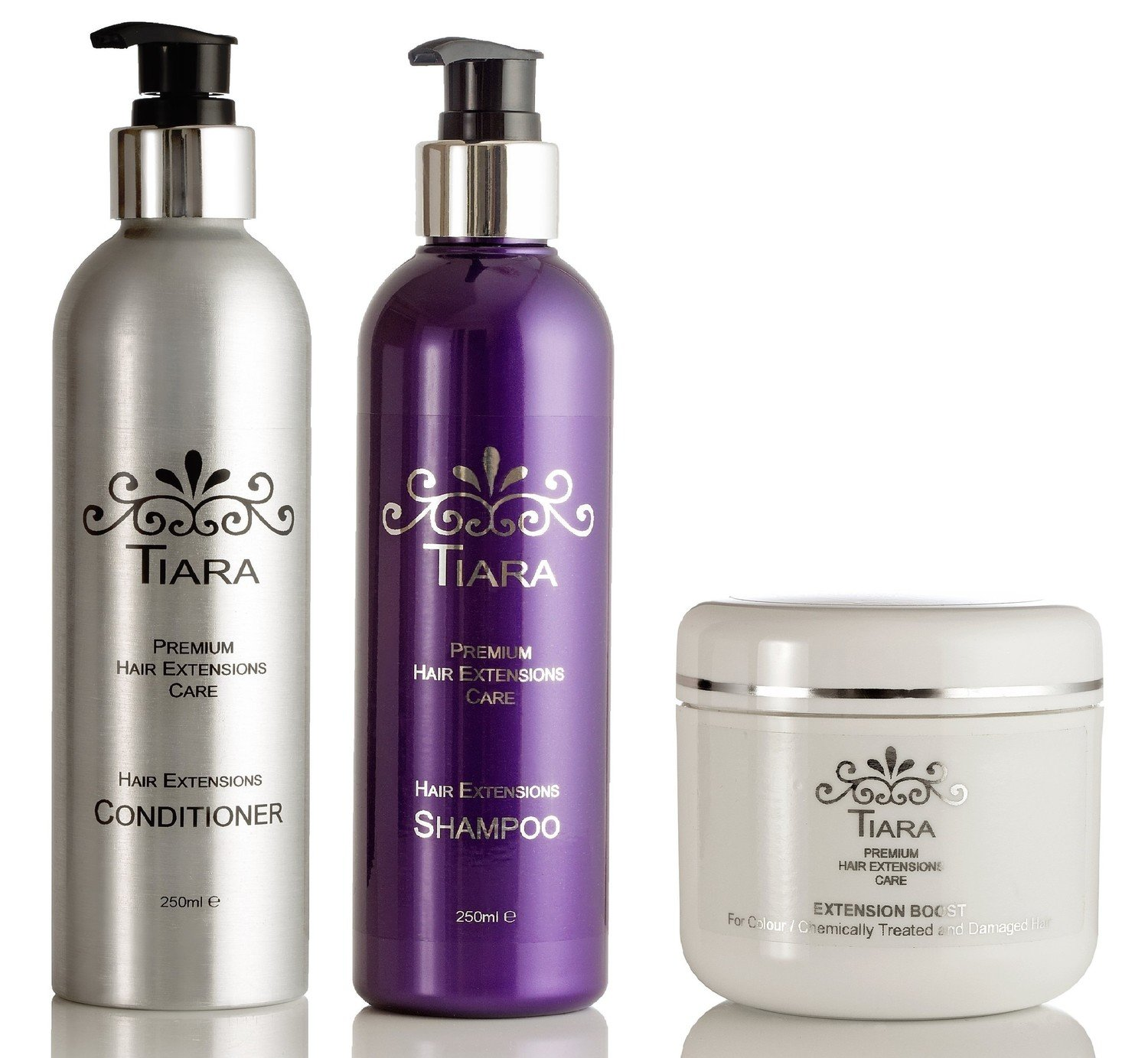 Tiara Extension Care Combo-II (Shampoo + Conditioner + Extension Boost)