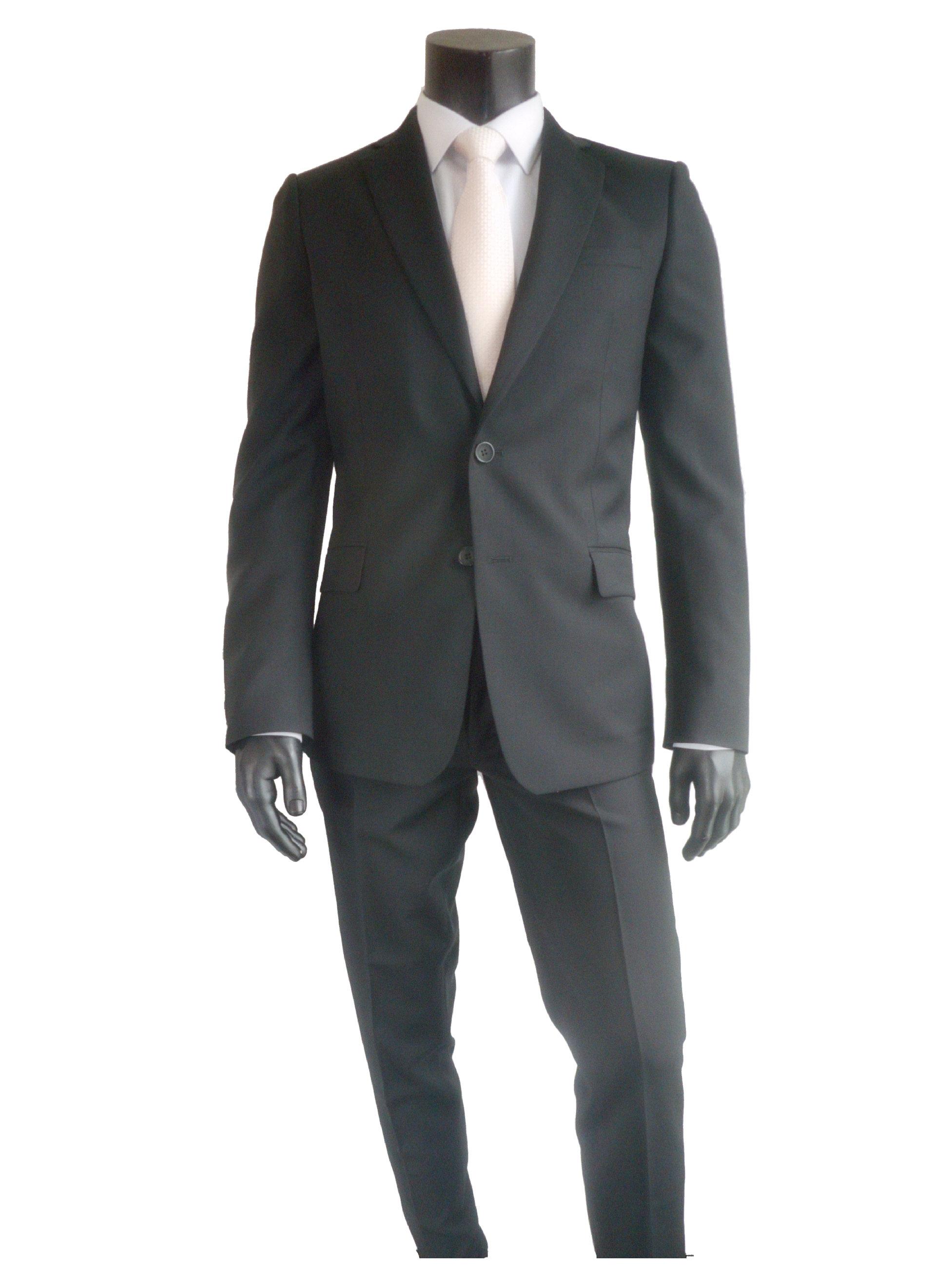 Kostuum slimfit zwart