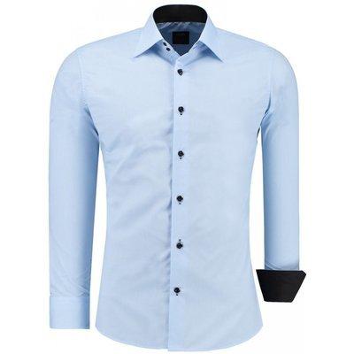 Overhemd blauw