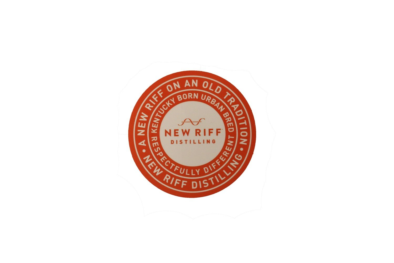 New Riff Circle Sticker