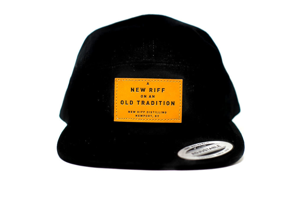 New Riff Hat - 5 Panel Leather