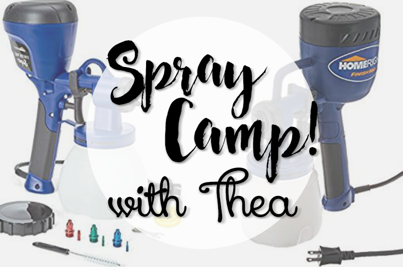 Spray Camp featuring Thea and Homeright Painting Products 00008