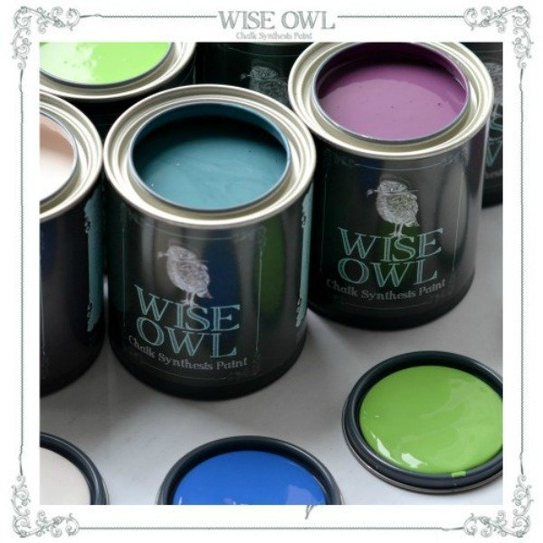 Wise Owl Chalk Synthesis Paint {Pint} 002