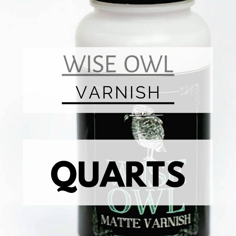 Wise Owl Varnish [Quart] 0005
