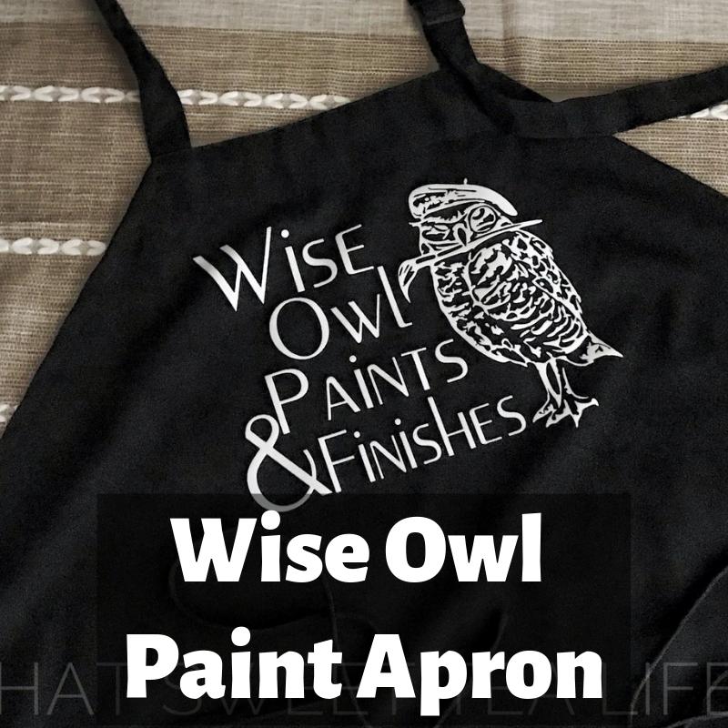 Wise Owl Paint Apron ApronWO