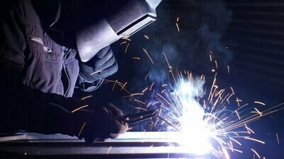 INTRODUCTION TO WELDING Sept 8-Dec 8, 2020 Tuesdays 5-9 pm