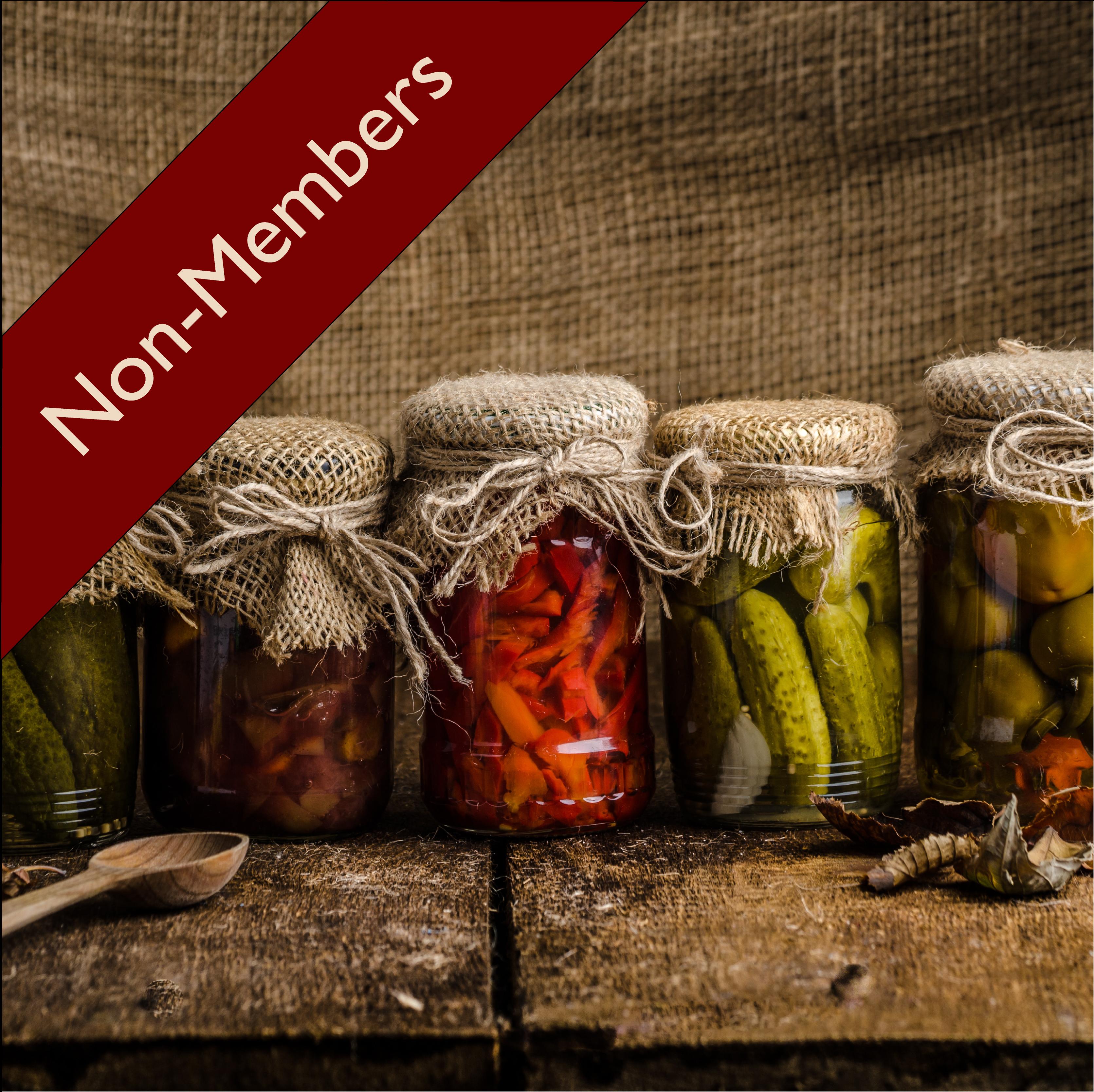 Urban Homesteaders: The Art of Pickling ( Non-Members) 00010