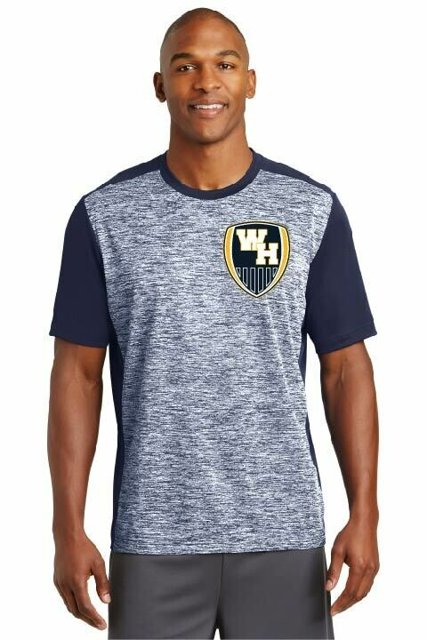 Sport-Tek® PosiCharge® Electric Heather Colorblock Tee
