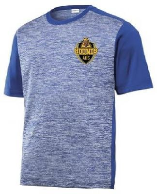 Sport-Tek PosiCharge Electric Heather Colorblock Tee