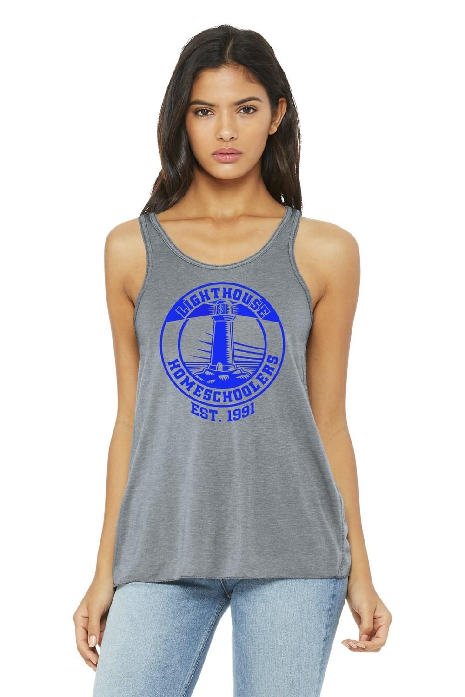 Bella+Canvas ® Women's Flowy Racerback Tank