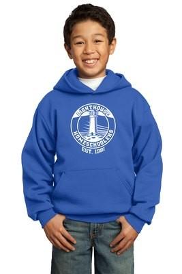Port & Company® - Youth Core Fleece Pullover Hooded Sweatshirt