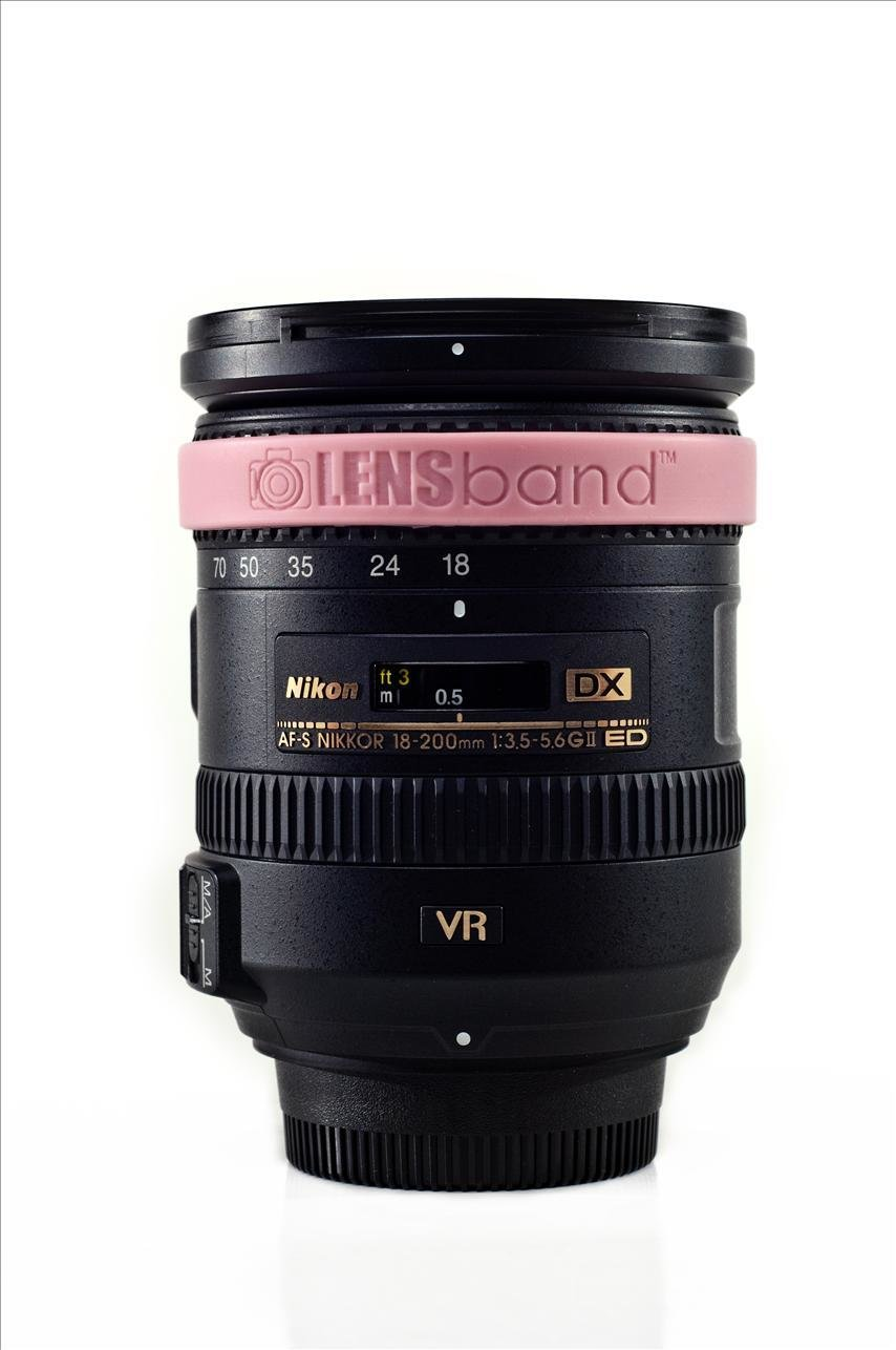 Light Pink-Standard  (fits DSLR Lenses) Sku: 628586557925