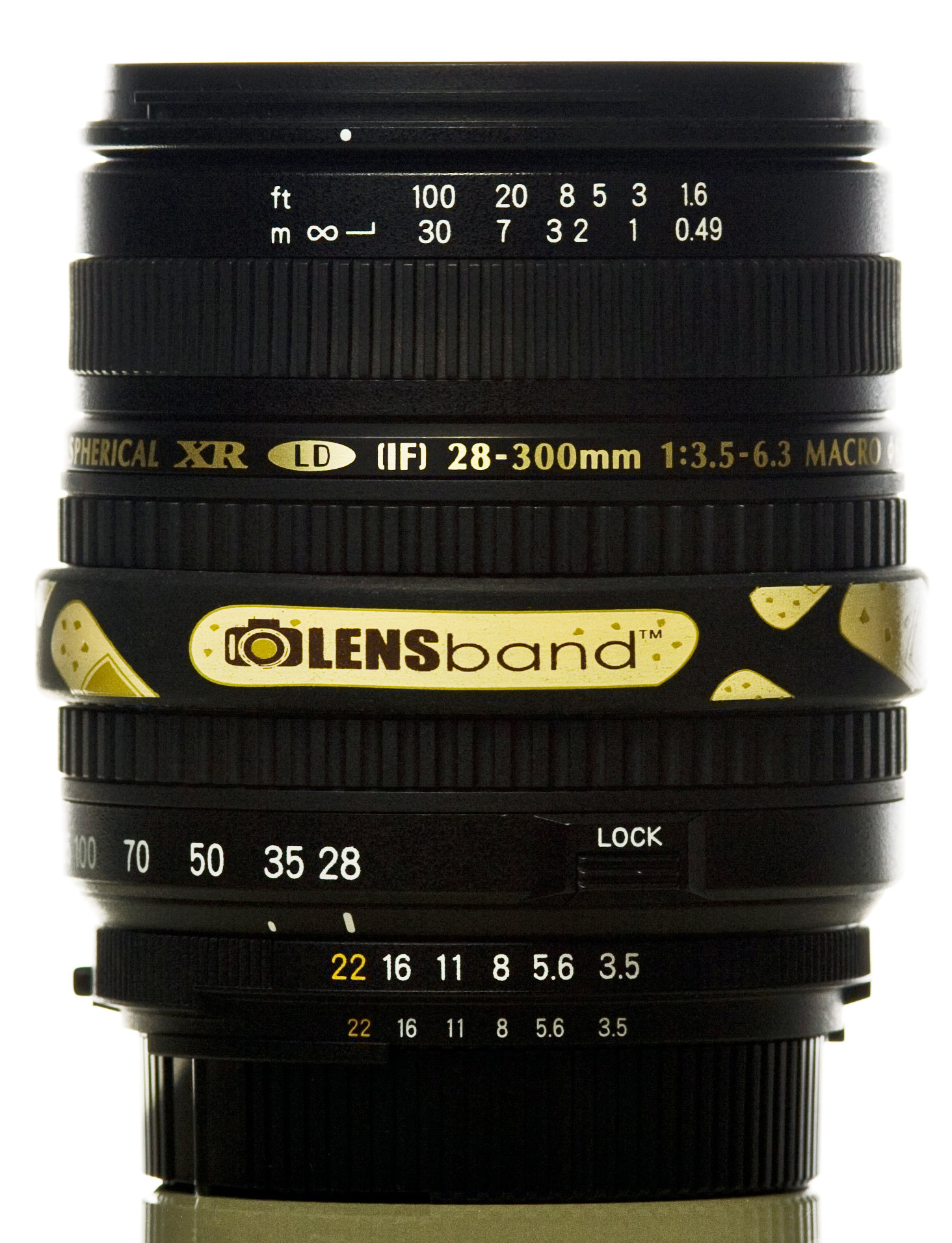 Band Aid-Standard  (fits DSLR Lenses) Sku: 628586850330
