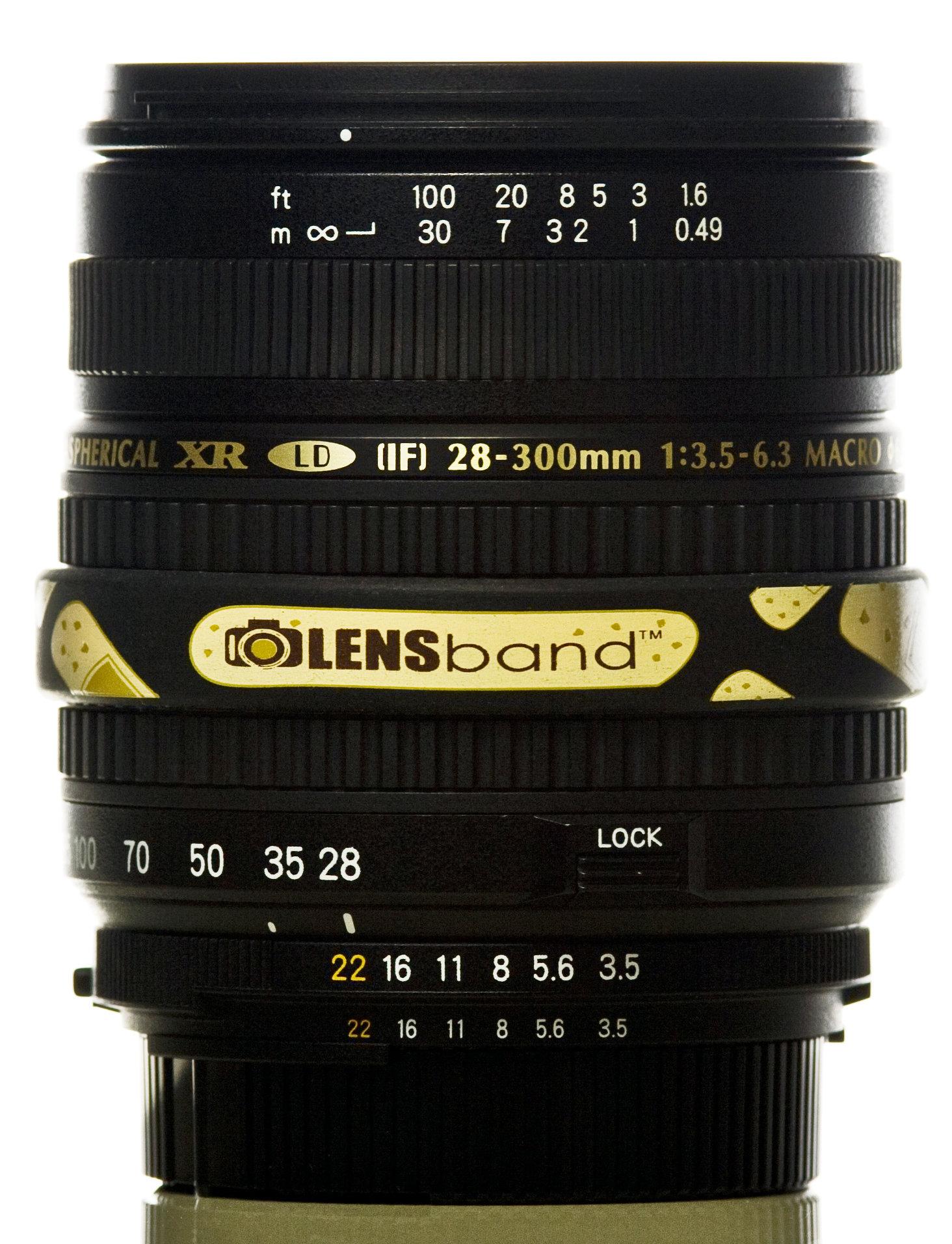Band Aid-Standard  (fits DSLR Lenses) Sku: 628586850330