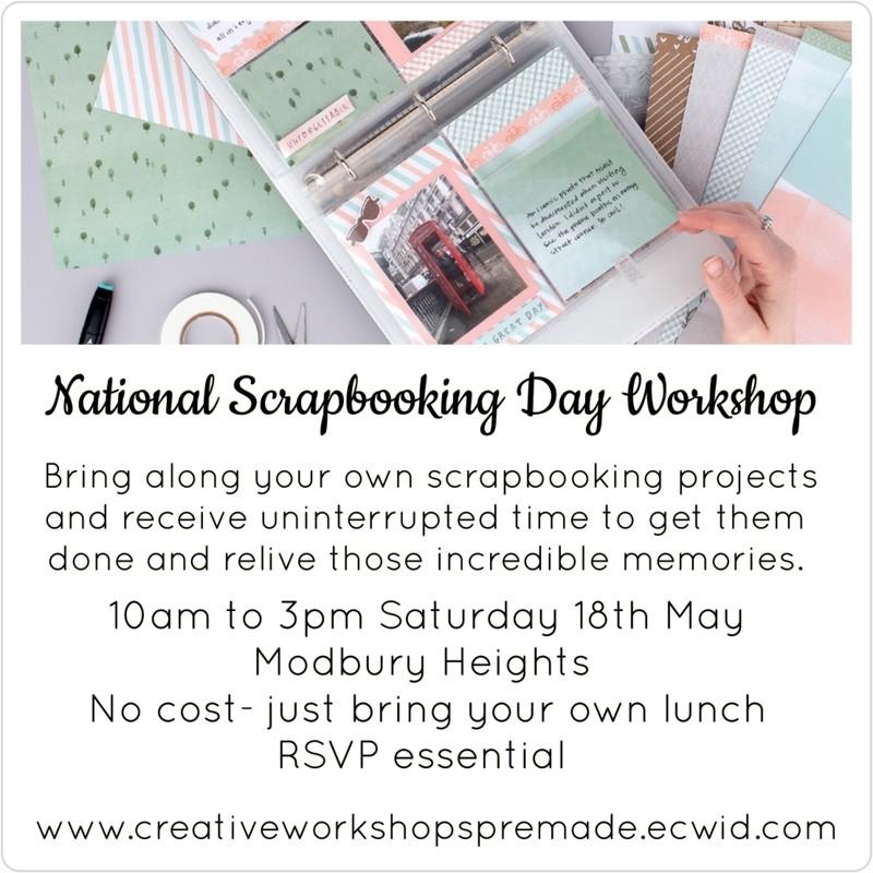 NSD Scrapbooking Workshop