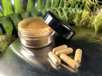 Pure Kratom Extract - 100mg capsules x 10 caps = 1 gram