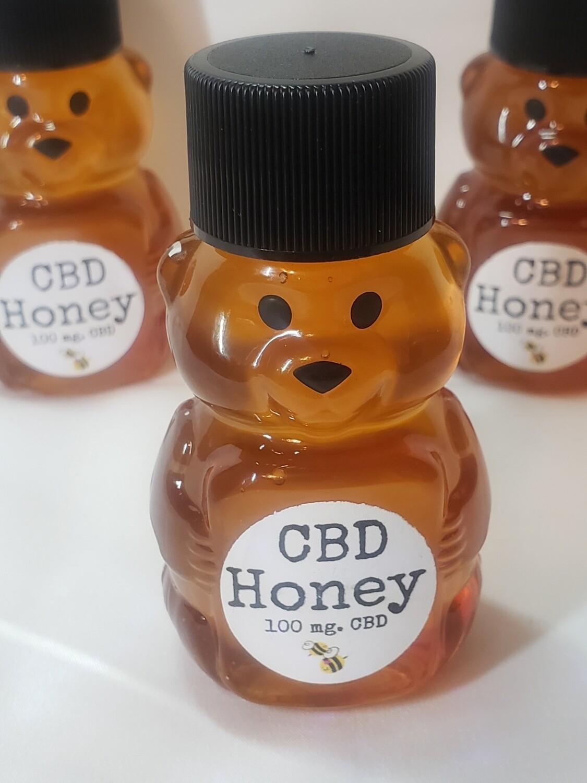 Honey 100mg Total Plant CBD Infused