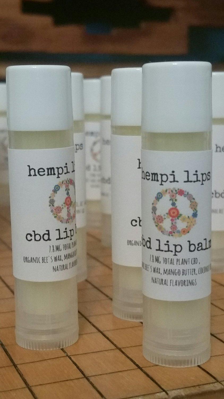 Hempi Lips- CBD lip balm