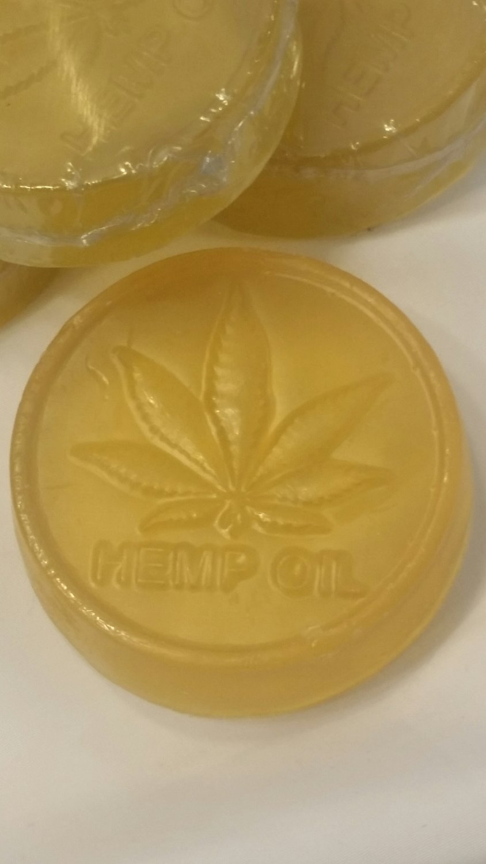 25 mg.  Per oz. Total Plant CBD Hemp & Honey Bath Soap 3 oz. Bar