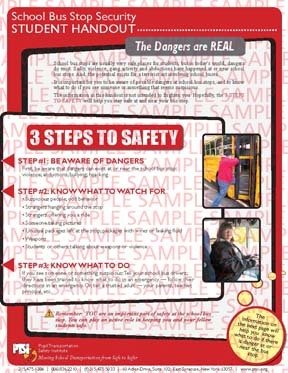 School Bus Stop Security (Student Handout)