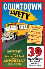 Countdown to Safety Calendar 1035