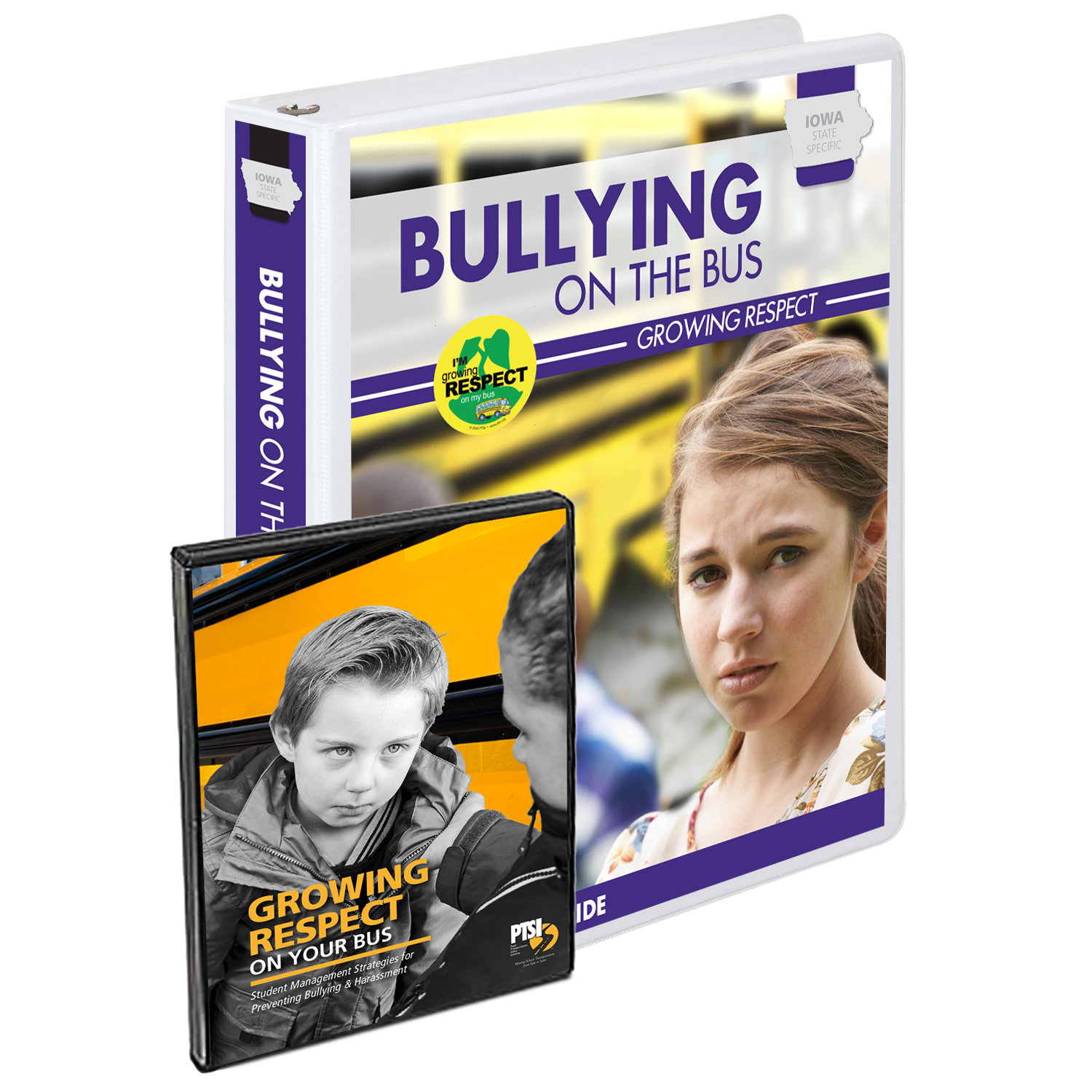 Iowa State Specific Bullying on the Bus – Growing Respect – Inservice Training Curriculum 1050-IA