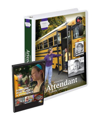 Iowa State Specific School Bus Attendant Training Curriculum Package 1040-IA