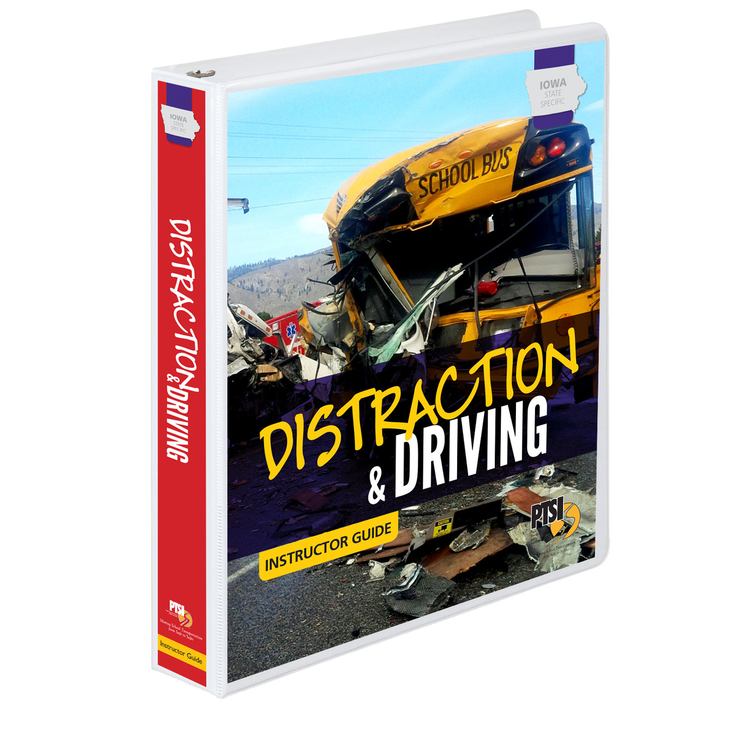 Iowa State Specific Distraction & Driving Training Curriculum 1135-IA