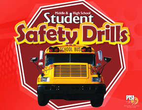 ENGLISH VERSION Student Safety Drill Flip Chart for MIDDLE & HIGH SCHOOL STUDENTS 1022