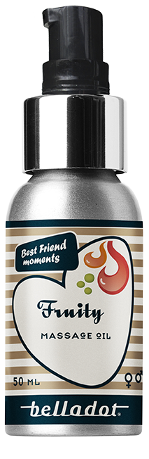 Fruty – massage oil - 50ml. og 100ml.