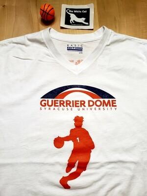 White V Neck The Guerrier Dome BOTO T-Shirt