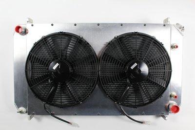 Fluidyne C10 Radiator + Fan Package