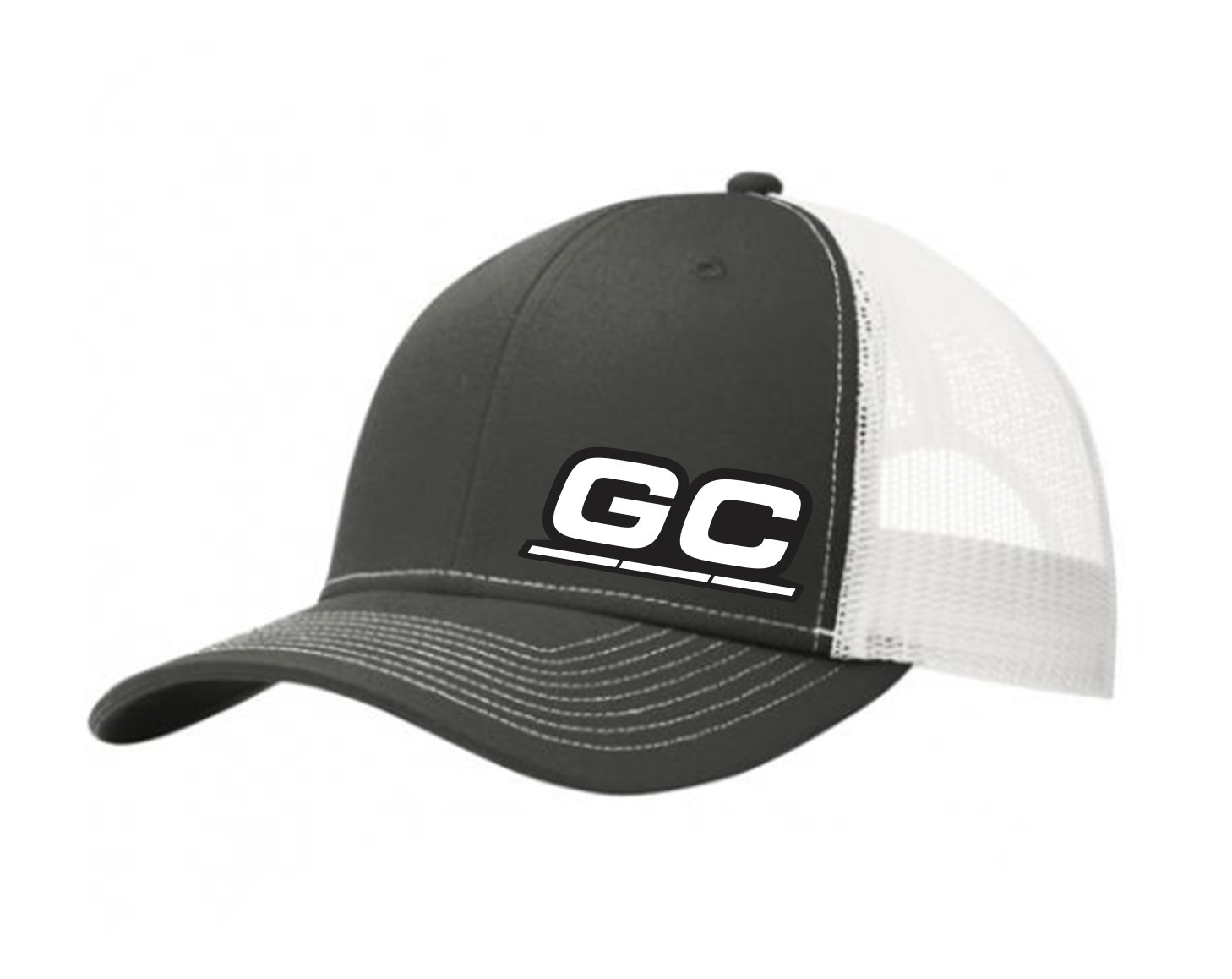 Steel Gray/white GC Cooling Embroidered Hat