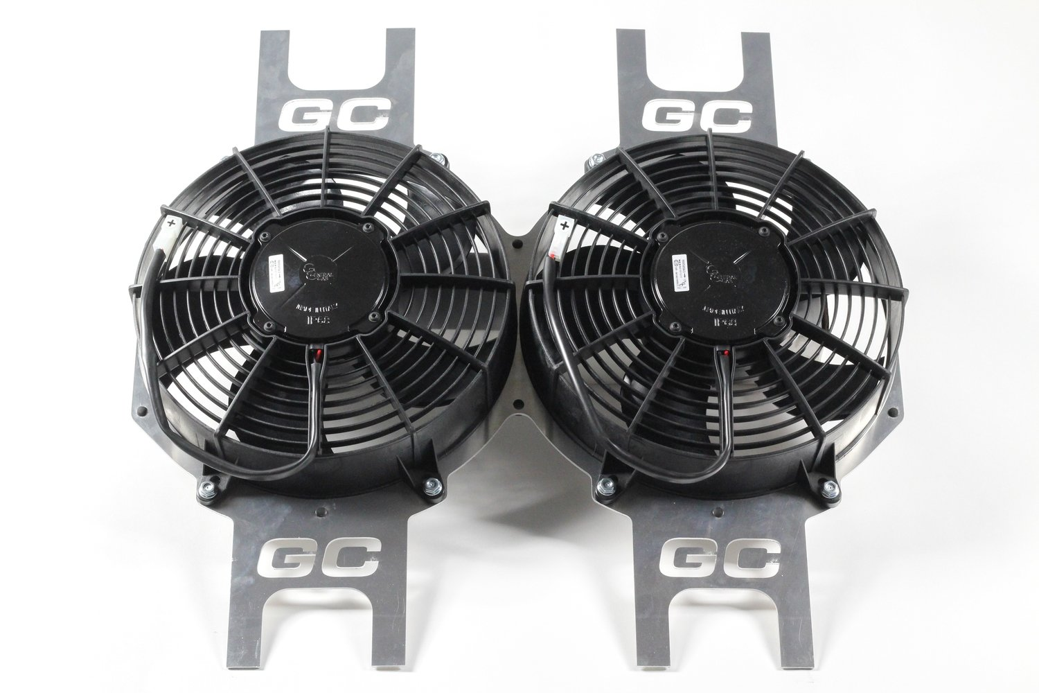 "11"" Heavy Duty Dual Fan Package"