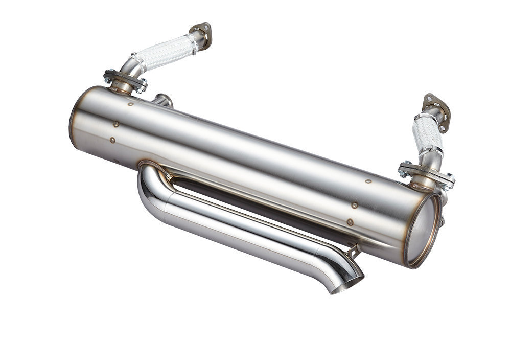 CLASSIC SPORT EXTREME LOWERED VW BAYWINDOW BUS EXHAUST SYSTEM