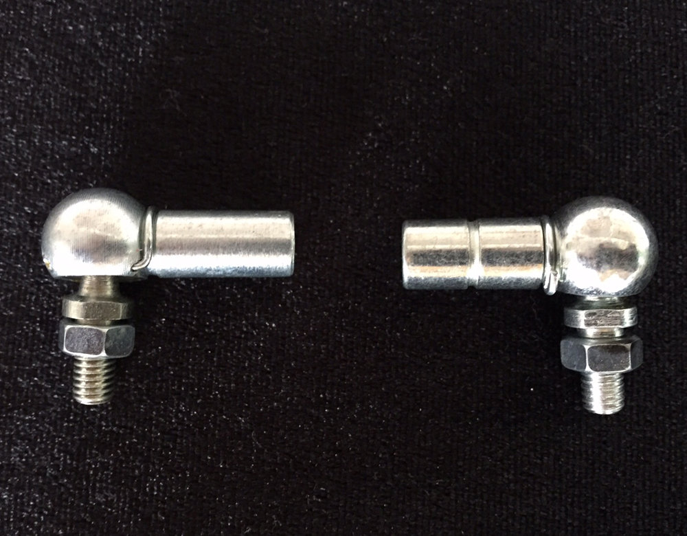 ONE PAIR OF GERMAN LINKAGE BALL JOINTS