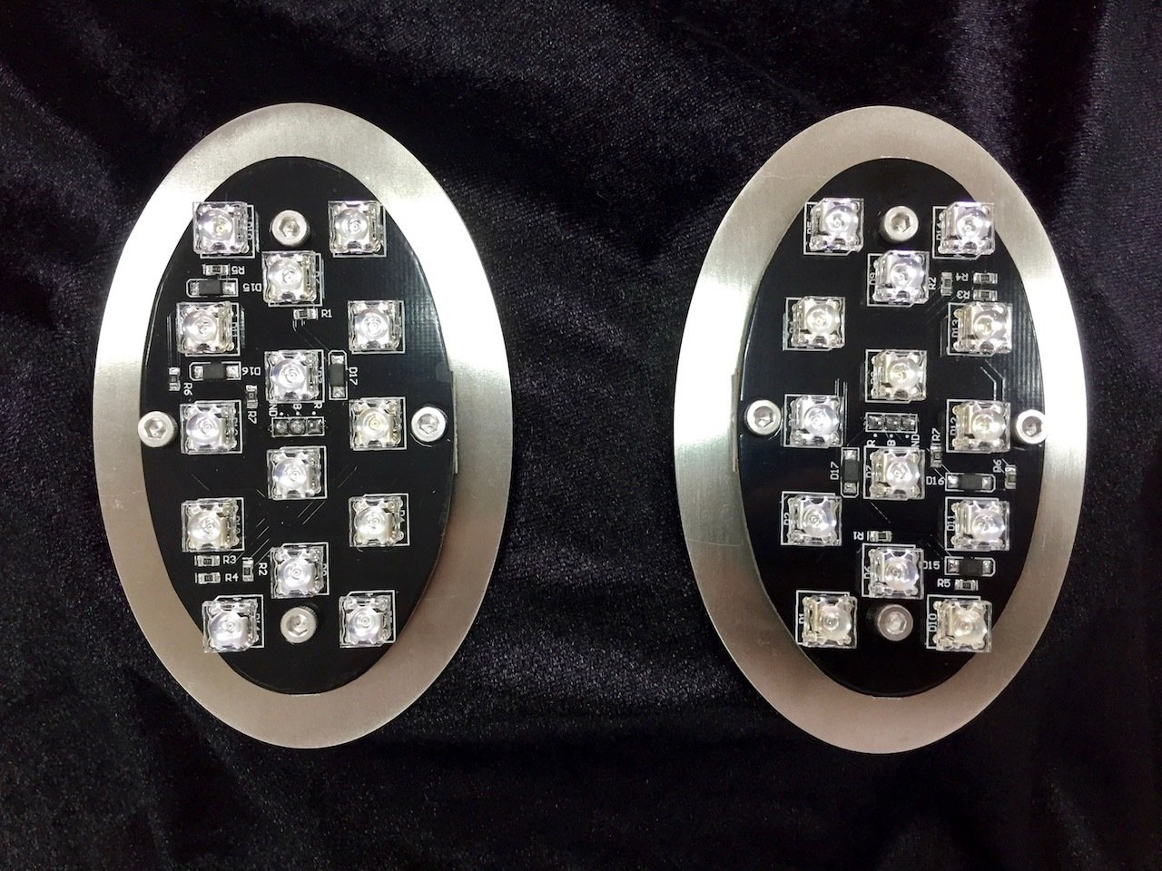 VW Beetle Tail Lights 1955~1961 LED 6V