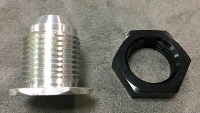 AN8 Fitting for VW Breather Tube and Oil Filler