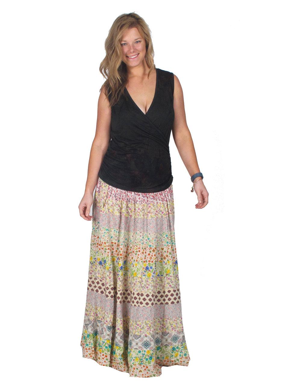 Smocked Tier Skirt