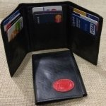Recycled Inner-Tube Tri-Fold Wallet