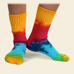 Youth Tye Dye Socks