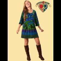 Tye Dye Velvet Dress