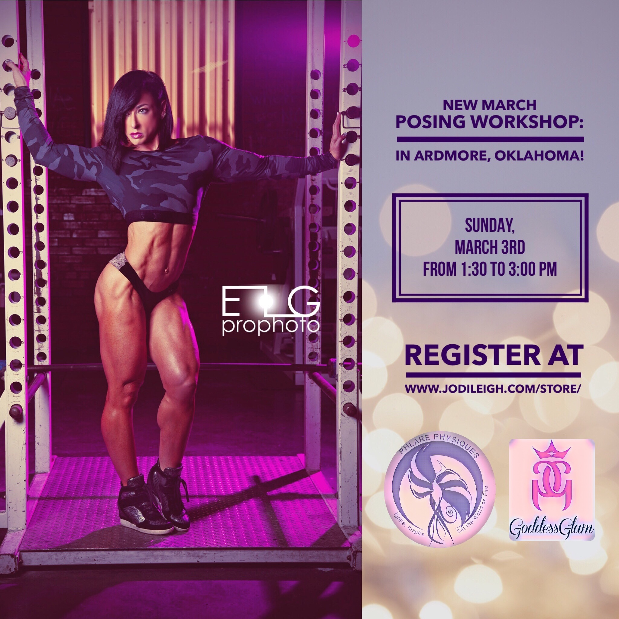 March 3rd Posing Workshop in Ardmore, OK, with Jodi Leigh Miller, IFBB Pro 00008